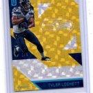 Tyler Lockett Gold Single 2016 Panini Unparalleled 57 Seahawks 1/5