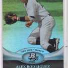 Alex Rodriguez Trading Card Single 2011 Bowman Platinum #90 Yankees