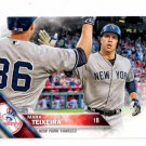 Mark Teixeira Trading Card 2016 Topps #204 Yankees