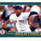 Pedro Martinez Trading Card Single 2001 Topps #60 Red Sox