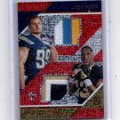 Michael Thomas Joey Bossa Dual 3 color rc patch 2016 Panini Unparalleled 04/25