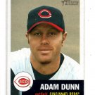 Adam Dunn Trading Card Single 2002 Topps Heritage #300 Reds NMT