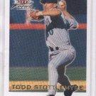 Todd Stottlemyre Trading Card 2001 Fleer Focus #12 Diamondbacks