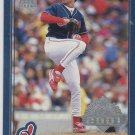 Chuck Finley Trading Card Single 2001 Topps Opening Day #18 Indians