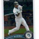 Hanley Ramirez Trading Card 2011 Topps Chrome #10
