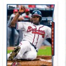 Justin Upton Trading Card 2014 Topps Mini Exclusive #229 Braves