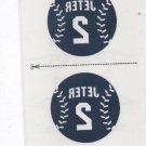 Derek Jeter Tattoos Trading Card Single 2013 Panini Triple Play #9 Yankees