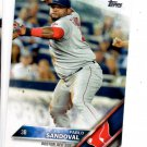 Pablo Sandoval Trading Card 2016 Topps 285 Red Sox