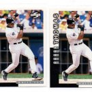 Frank Thomas Trading Card Lot of (2) 1998 Score #105 White Sox