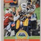 Heath Miller Super Bowl Heroes Trading Card Single 2017 Panini Classics Steelers