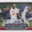 Michael Brantley SuperStar Celebrations 2016 Topps Opening Day #SC9 Cubs