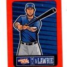 Brett Lawrie Red Sticker Trading Card Single 2013 Panini Triple Play #26