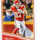 Travis Kelce Red Backs Trading Card 2017 Classics #14 Chiefs 039/299