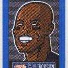 Austin Jackson Blue Sticker Single 2013 Panini Triple Play #4 Tigers