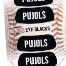 Albert Pujols Eye Blacks Sticker Single 2013 Panini Triple Play 5 Angels