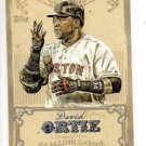 David Ortiz Calling Card Trading Card Single 2013 Topps #CC4 Red Sox