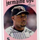 Jermaine Dye Trading Card Single 2008 Topps Heritage #407 White Sox