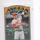 Mike Trout 72 Mini Trading Card 2013 Topps #TM4 Angels