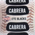 Miguel Cabrera Eye Blacks Sticker Single 2013 Panini Triple Play #6 Tigers