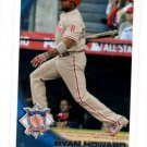 Ryan Howard Trading Card Single 2010 Topps Update #US265 Phillies