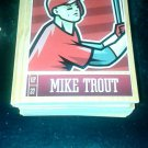 2013 Panini Triple Play complete 90 card set Trout, Jeter, Ortiz