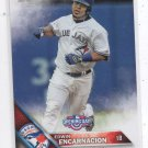Edwin Encarnacion Trading Card Single 2016 Topps Opening Day #OD111 Blue Jays