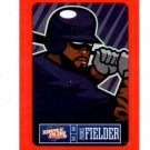 Prince Fielder Red Sticker Trading Card Single 2013 Panini Sticker #8