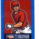 Carlos Beltran Blue Sticker Single 2013 Panini Triple Play #15 Rangers