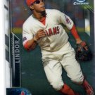 Francisco Lindor Trading Card Single 2016 Bowman Chrome #28 Indians