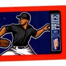 David Price Red Sticker Trading Card Single 2013 Panini Triple Play #24