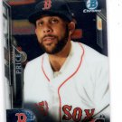 David Price Trading Card Single 2016 Bowman Chrome #92 Red Sox