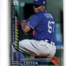 Jharel Cotton Bowman Scouts Updates 2016 Bowman Chrome #BSUJC Dodgers