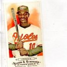Adam Jones Mini Trading Card Single 2009 Tops Allen & Ginter #20 Orioles