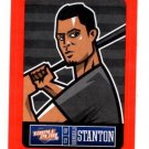 Giancarlo Stanton Red Sticker  Trading Card Single 2013 Panini Triple Play #13