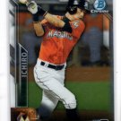 Ichiro Suzuki Trading Card Single 2016 Bowman Chrome #50 Marlins