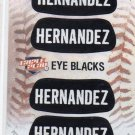 Felix Hernandez Eye Blacks Sticker Single 2013 Panini Triple Play #9 Mariners