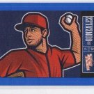 Gio Gonzalez Blue Sticker Single 2013 Panini Triple Play #18 Nationals