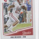 Joe Mixon Red Back Trading Card Single 2017 Panini Classics #248 234/299
