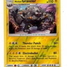 Alolan Graveler Reverse Holo UnCommon Single Pokemon Sun Moon 45/145 x1