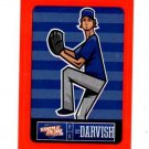 Yu Darvish Red Sticker Trading Card Single 2013 Panini Triple Play #25