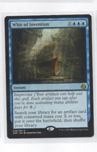 Whir of Invention Rare Single Magic The Gathering Aether Revolt 048/184 x1