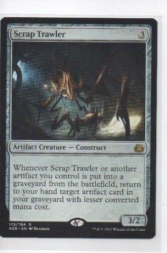 Scrap Trawler Rare Single Magic The Gathering Aether Revolt 175/184 x1