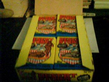 1990 Topps Desert Storm Victory Series Box 36 packs Unopened