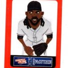 Andrew McCutchen Red Sticker Trading Card Single 2013 Panini Triple Play #20