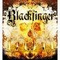 Blackfinger 66 x 72 Shower Curtain