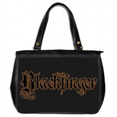 Blackfinger Oversized Leather Handbag