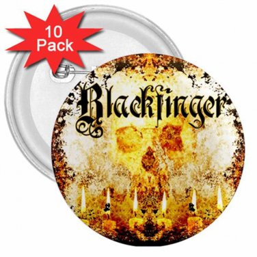 Blackfinger 3in Button 10 Pack