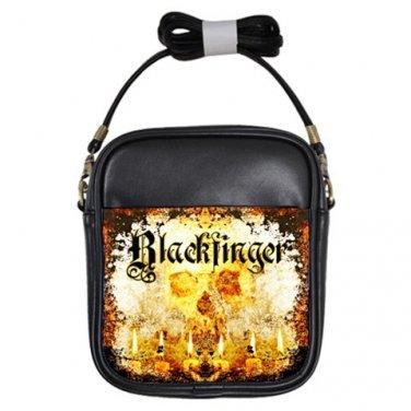 Blackfinger Leather Sling Bag