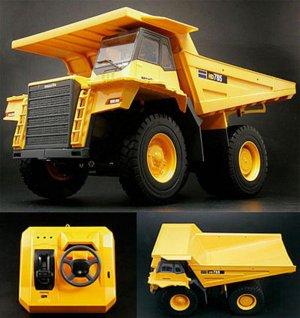 Kyosho Komatsu Dump Truck Car HD785-7 JAPAN 1/50 Very Rare!! New!!