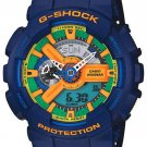 Casio G-Shock GA-110FC-2AJF Crazy Colors Blue Japan NWT Rare!!